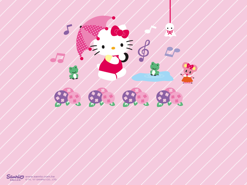 Hello Kitty Wallpaper   Hello Kitty Wallpaper 8257477 1024x768