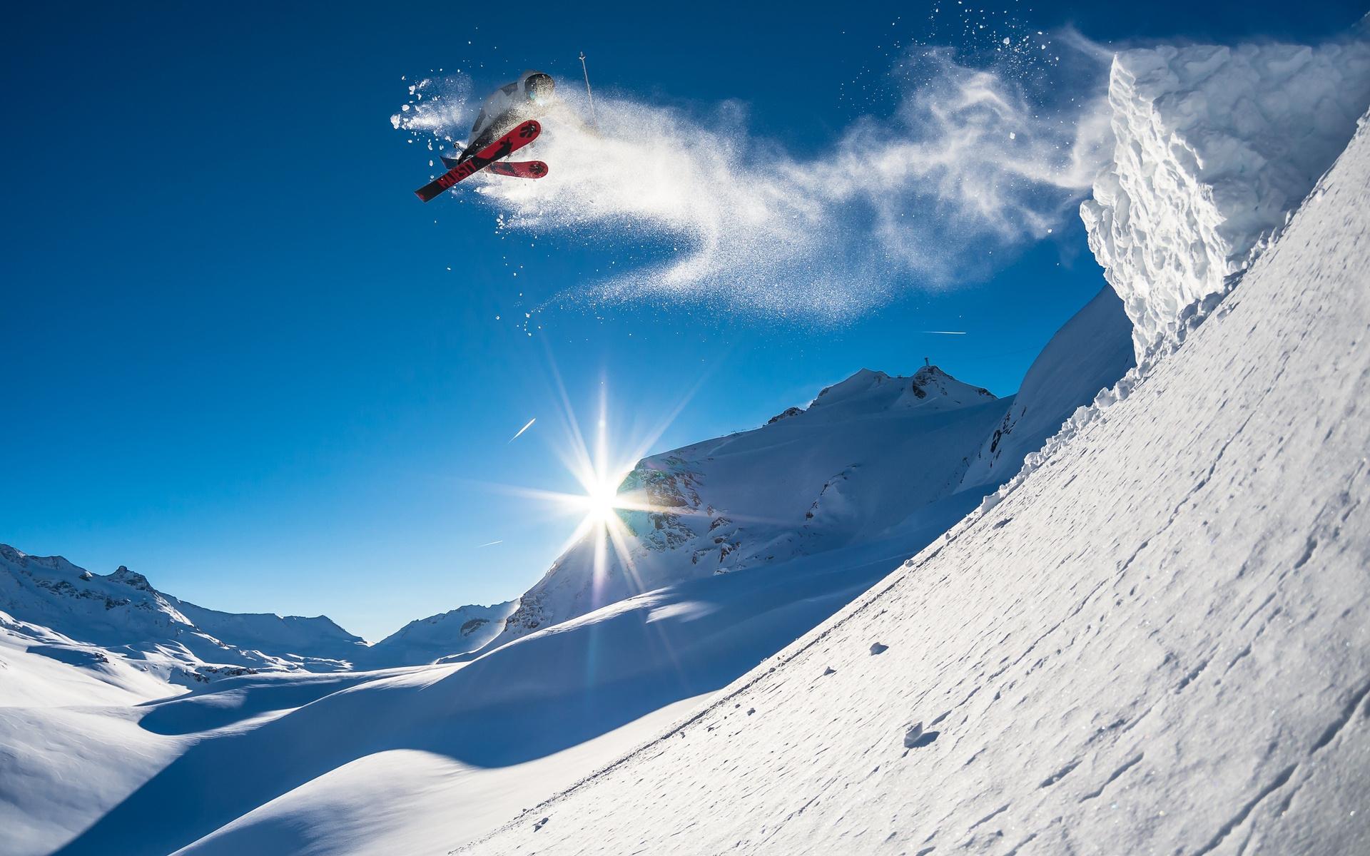 Ski Jumping Hd Desktop Wallpaper 23954 Baltana   Ski Wallpapers Hd 1920x1200