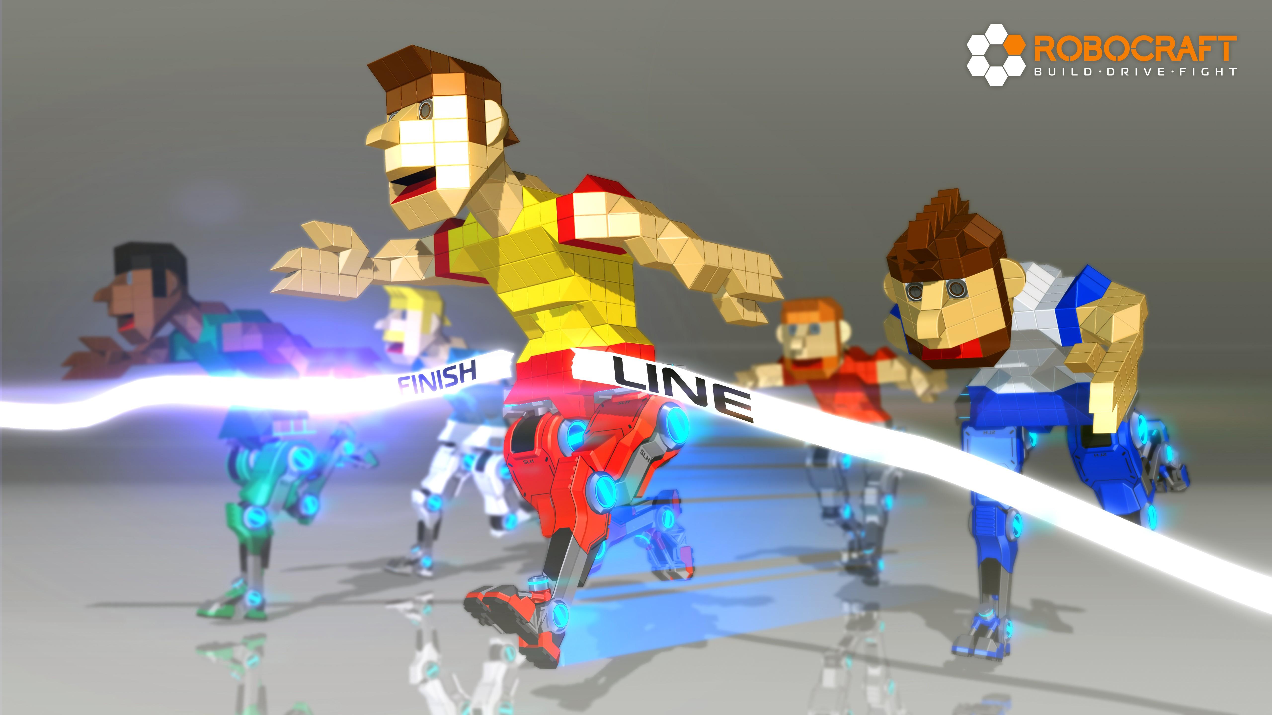 Robocraft Runner Wallpaper Alienware Arena 5120x2880