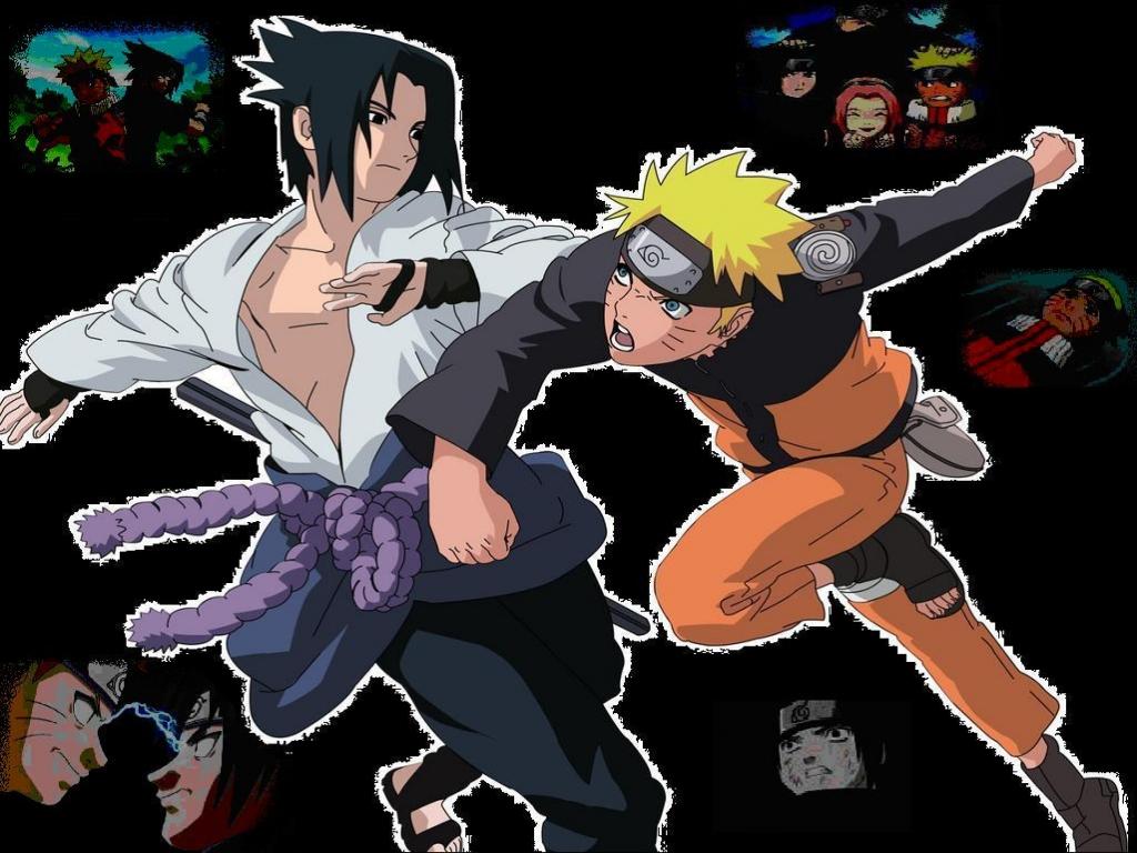Naruto vs Sasuke Fondos de Pantalla   Imagenes Hd  Fondos gratis 1024x768