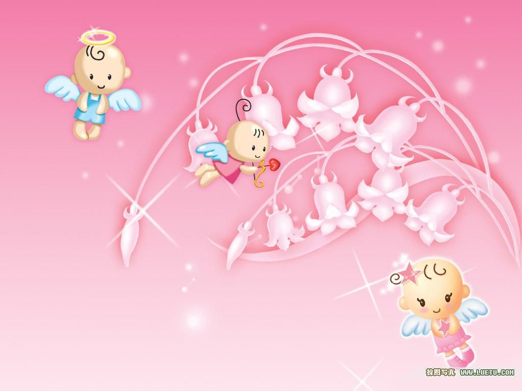 group of baby wallpapers cute pink