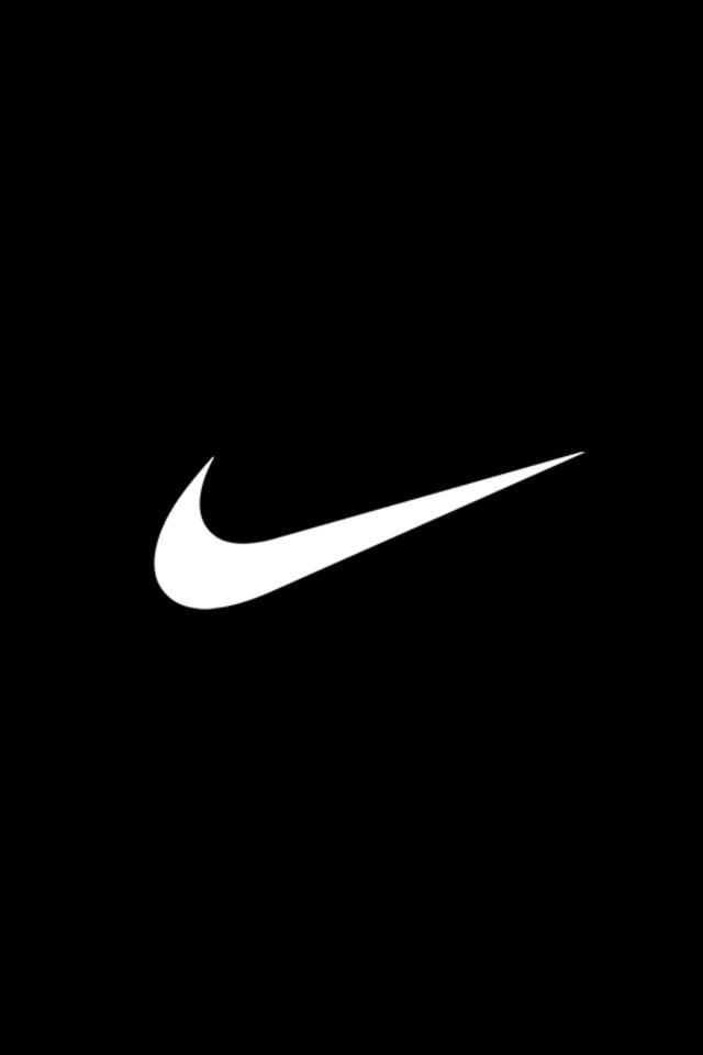 Basic Nike Logo Wallpaper for iPhone 4 640x960