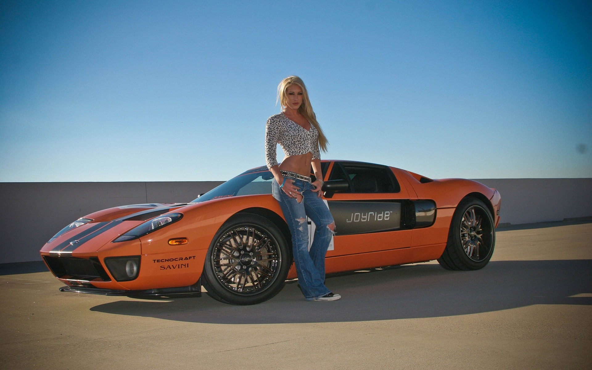 Wallpapers blondes women models Ford supercars girls with cars 1920x1200