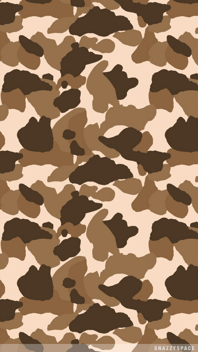 Brown Camo iPhone Wallpaper Chocolate Colored Pinterest 640x1136