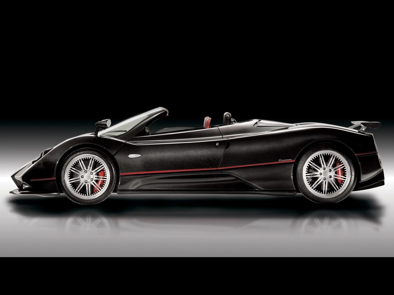 2006 Pagani Zonda Roadster F - Side - 1280x960 Wallpaper