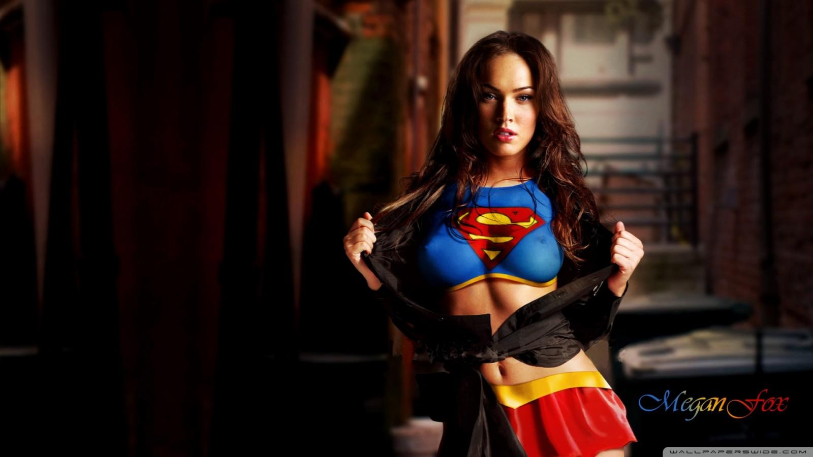 Megan Fox 2013 Superman HD Wallpaper of Celebrities   hdwallpaper2013 1600x900