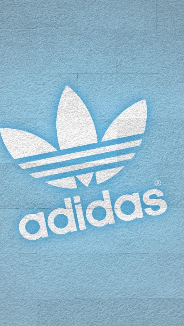 640x1136 Adidas White Logo Iphone 5 wallpaper 640x1136