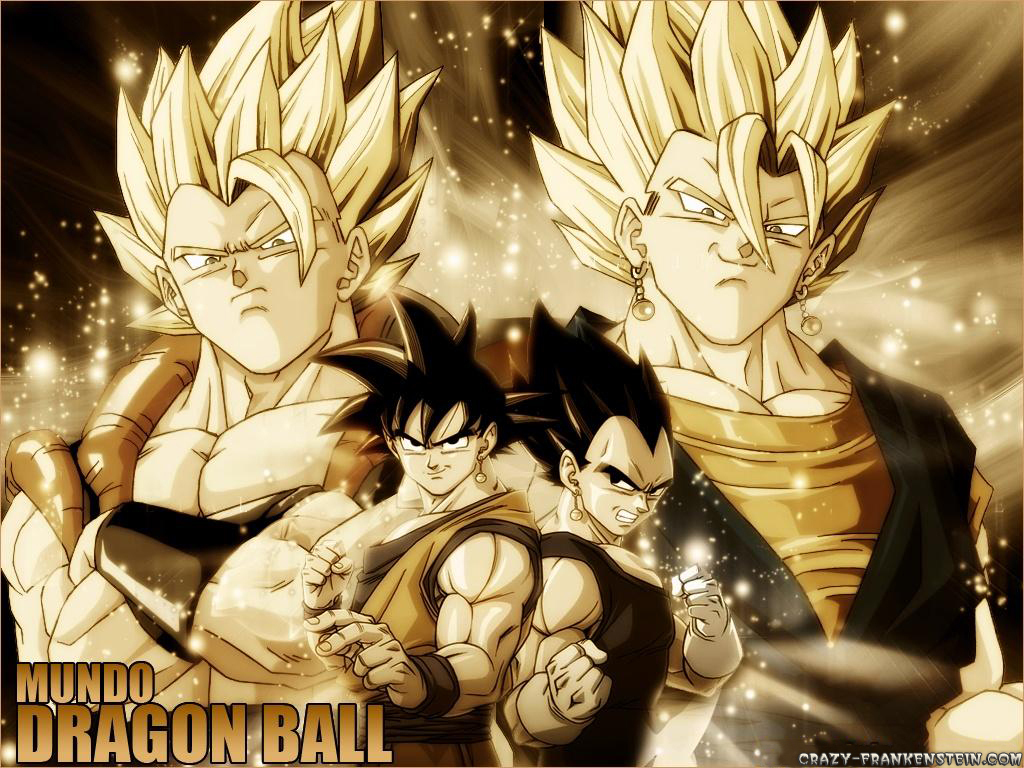 Dragonball Z Movie Characters images Gogeta and Super Vegito wallpaper 1024x768
