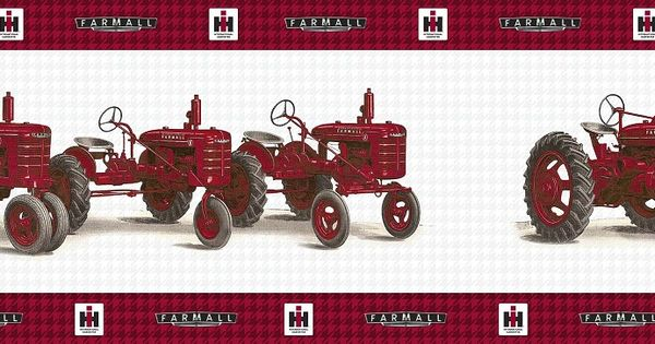 50 farmall wallpaper border on wallpapersafari - Farmall tractor wallpaper border ...