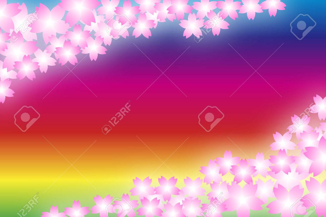 Background Material Wallpaper Floral Cherry Cerise Cherry 1300x866