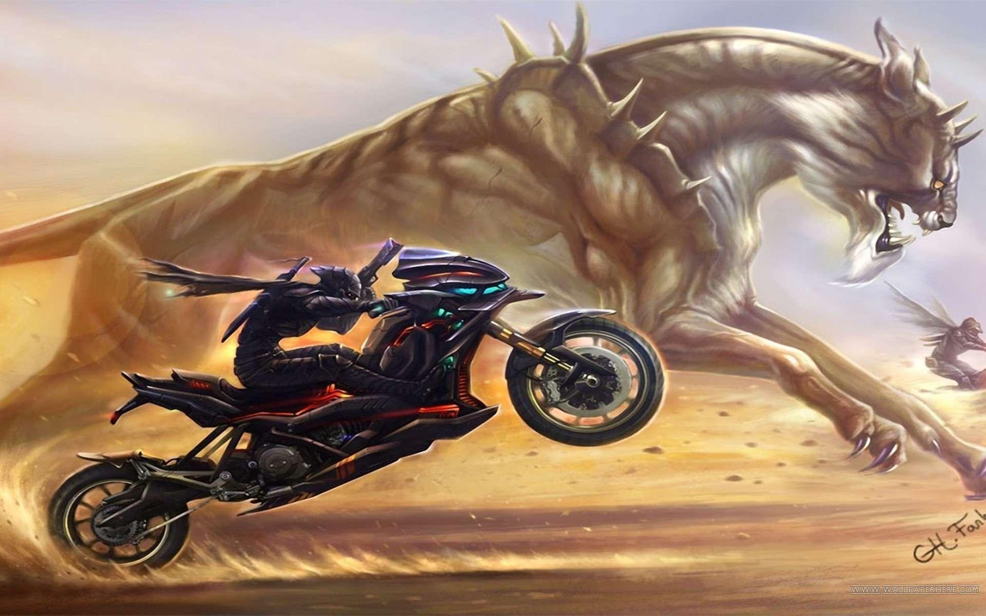biker wallpaper - photo #32
