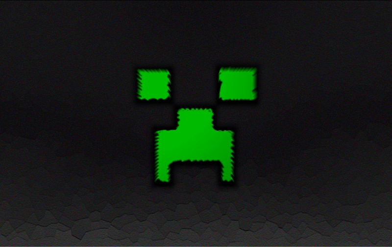 Minecraft Creeper Wallpaper by Arcticus1010 800x505