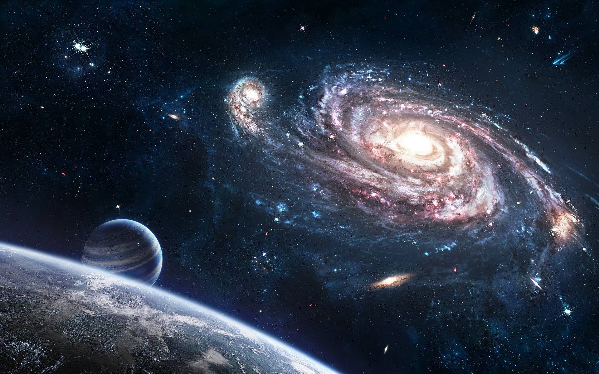 Outer Space Desktop Wallpapers 1920x1200