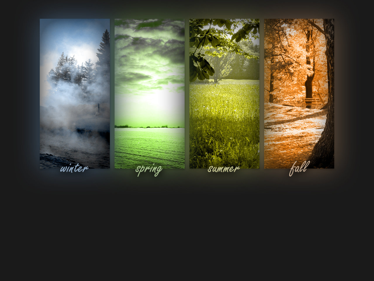 Four Seasons Wallpaper by liquidplasmaflow on deviantART 1280x960