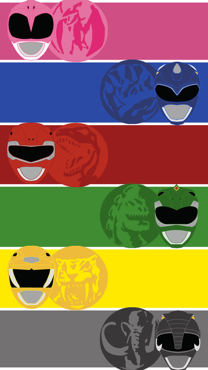Mighty Morphin Power Rangers Wallpaper Wallpapersafari