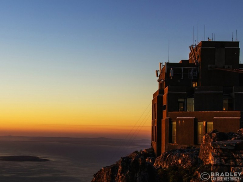 Table Mountain Cable Car Sunset Wallpaper Download 800x600
