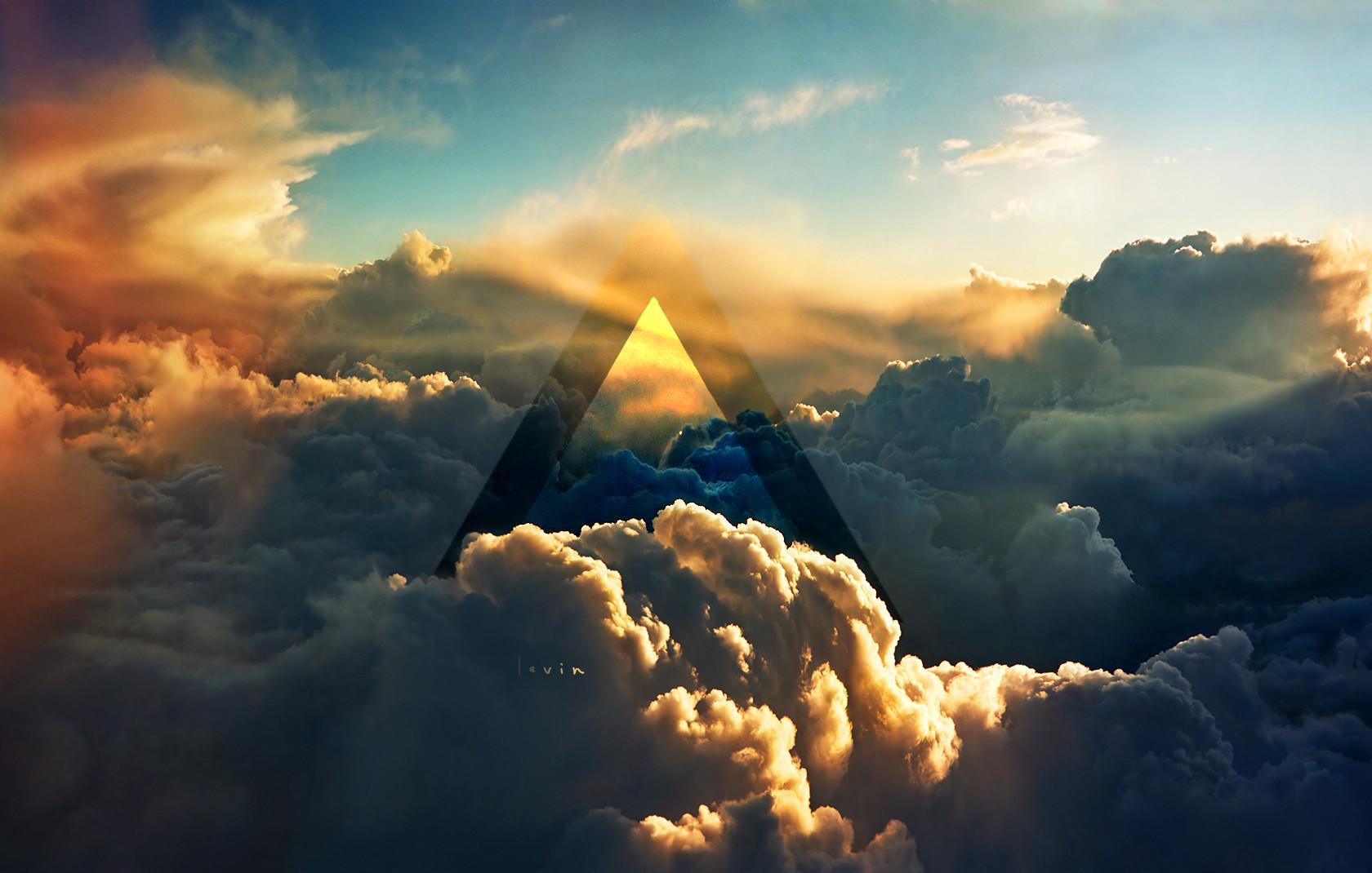 Hd wallpaper hipster - Hipster Triangle Wallpaper Cloud Hd Background Wallpaper