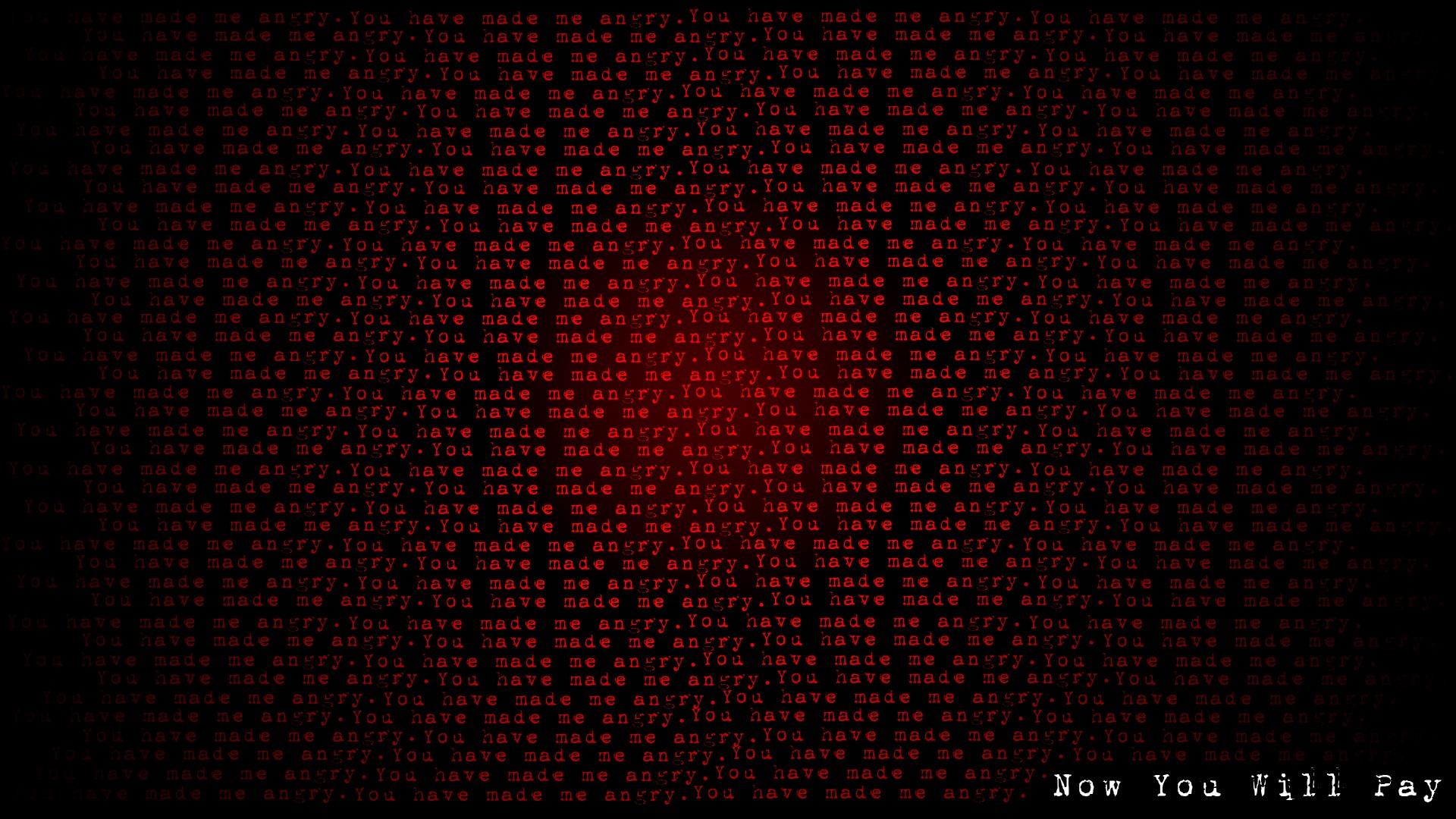 Black Dark Wallpaper 1920x1080 Black Dark Red Fearful Payback 1920x1080