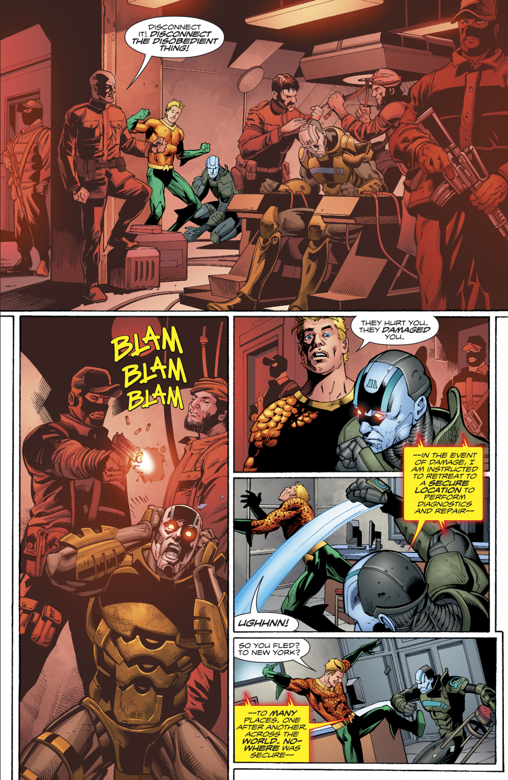 Aquaman Learns Warheads Background Story Comicnewbies 994x1525