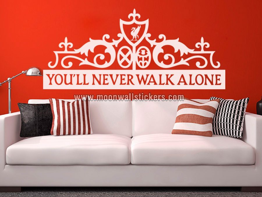 Youll Never Walk Alone Sticker   Moonwallstickerscom 900x675