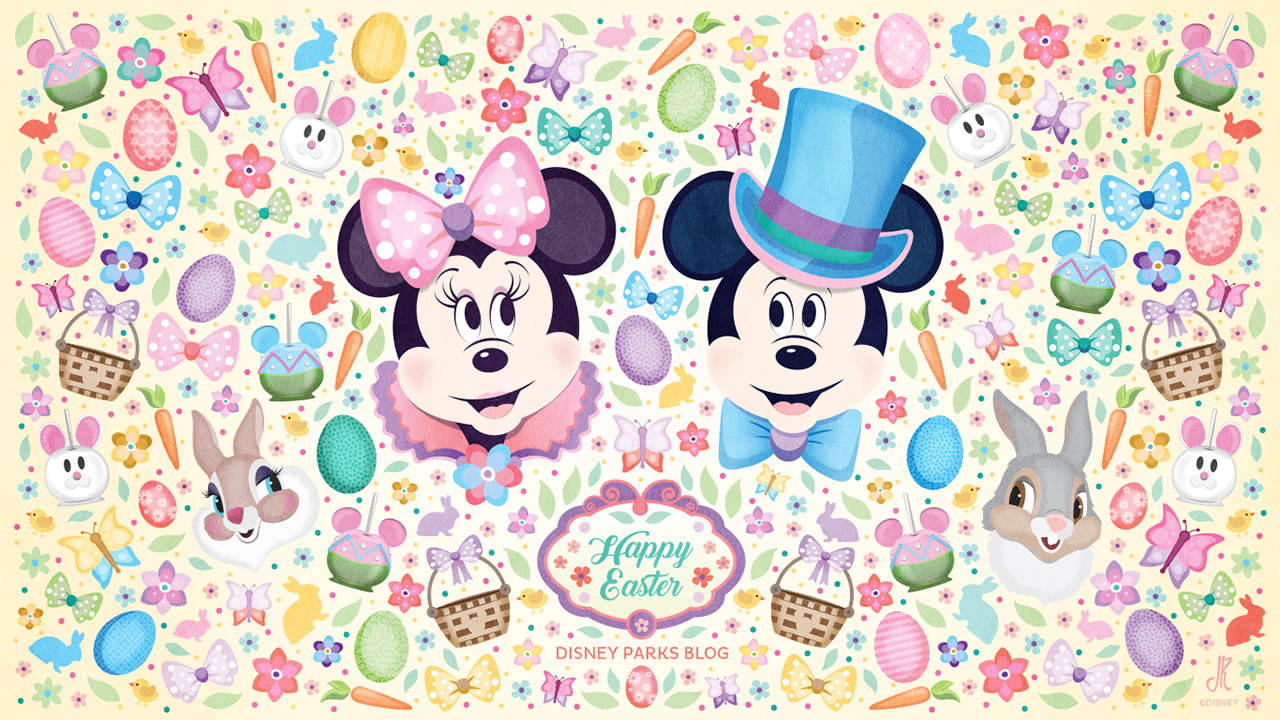 Download our Disney Parks Inspired Easter Wallpaper Disney Parks 1280x720