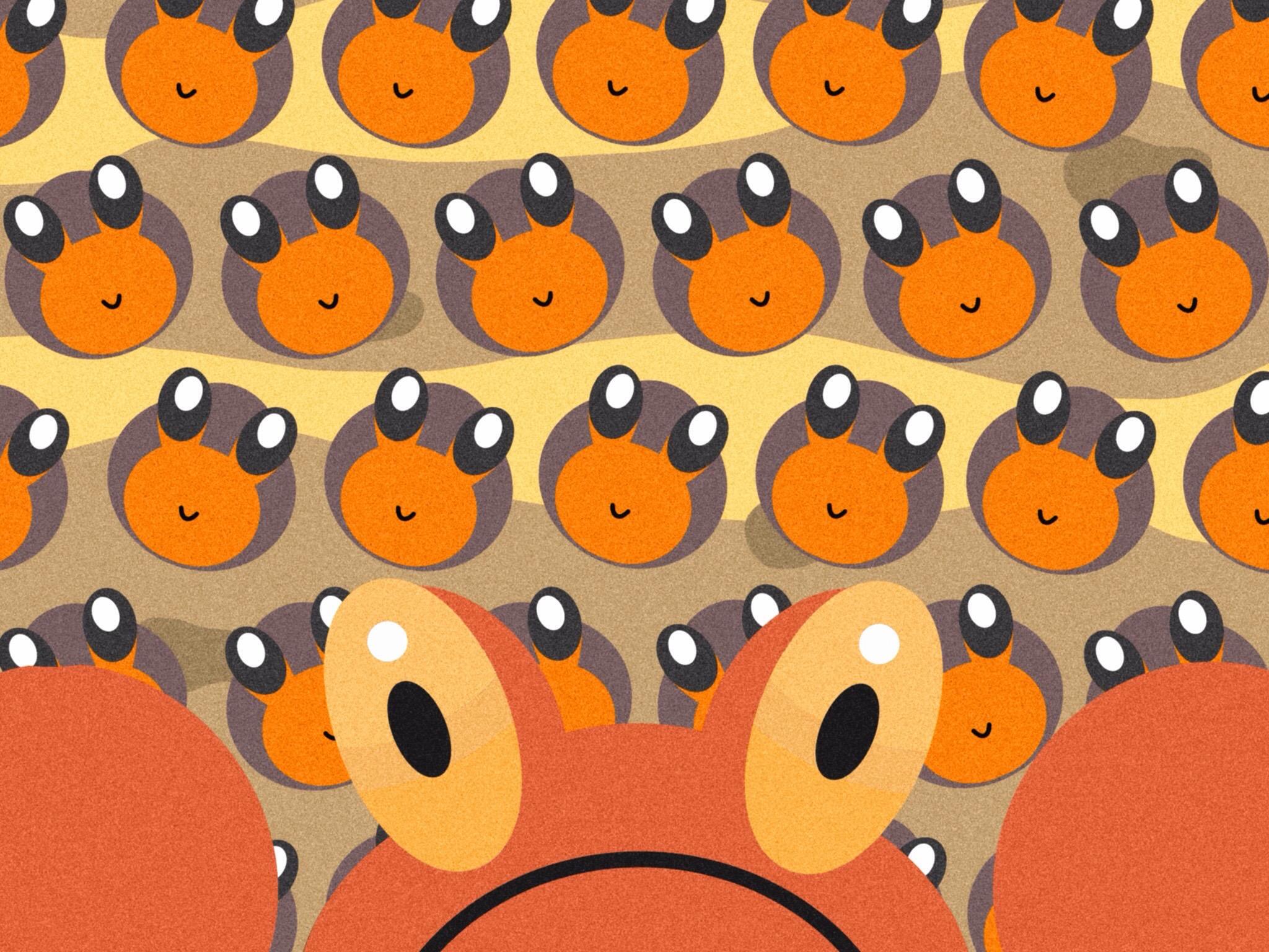 Pokemon   557 Dwebble 558 Crustle by BrentVdeW 2048x1536