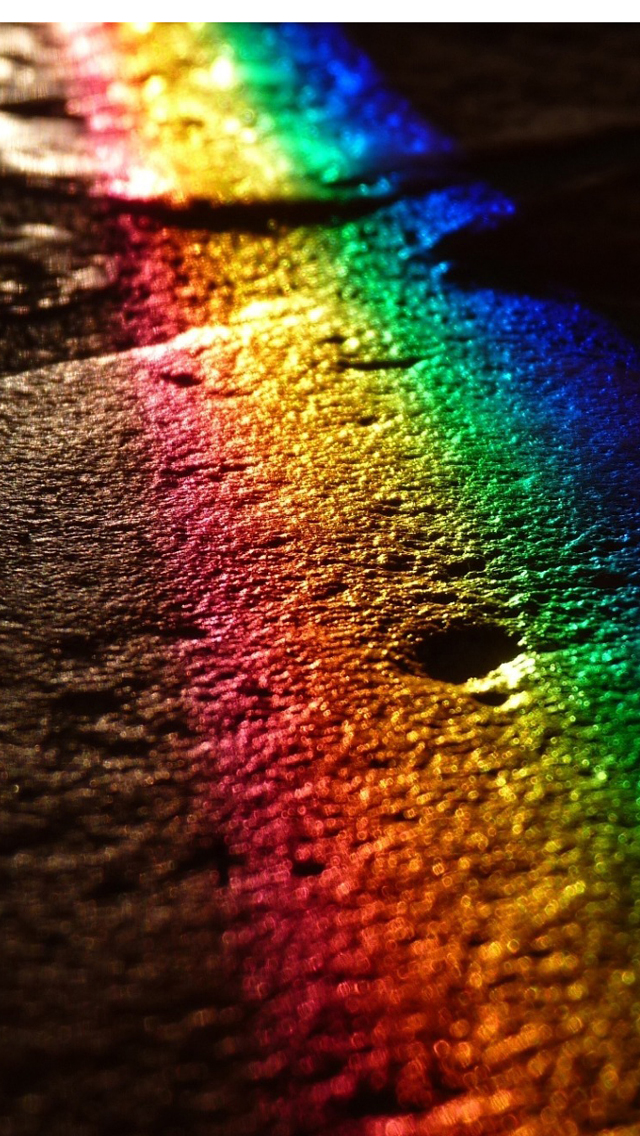 Download Rainbow Colors iPhone 5 HD Wallpapers HD 640x1136