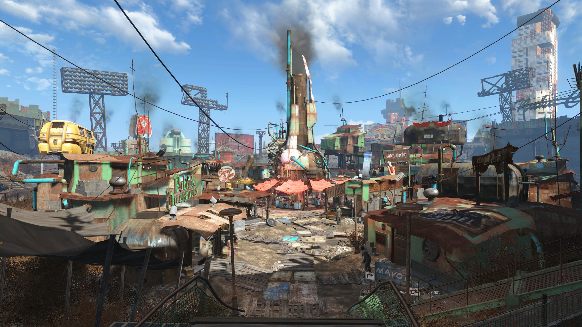 Diamond City Fallout Wiki FANDOM powered by Wikia 1920x1080