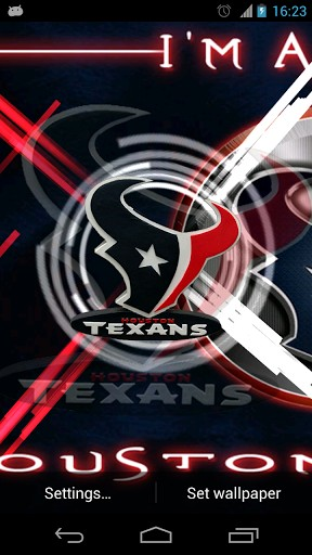 View bigger   Houston Texans Live Wallpaper for Android screenshot 288x512