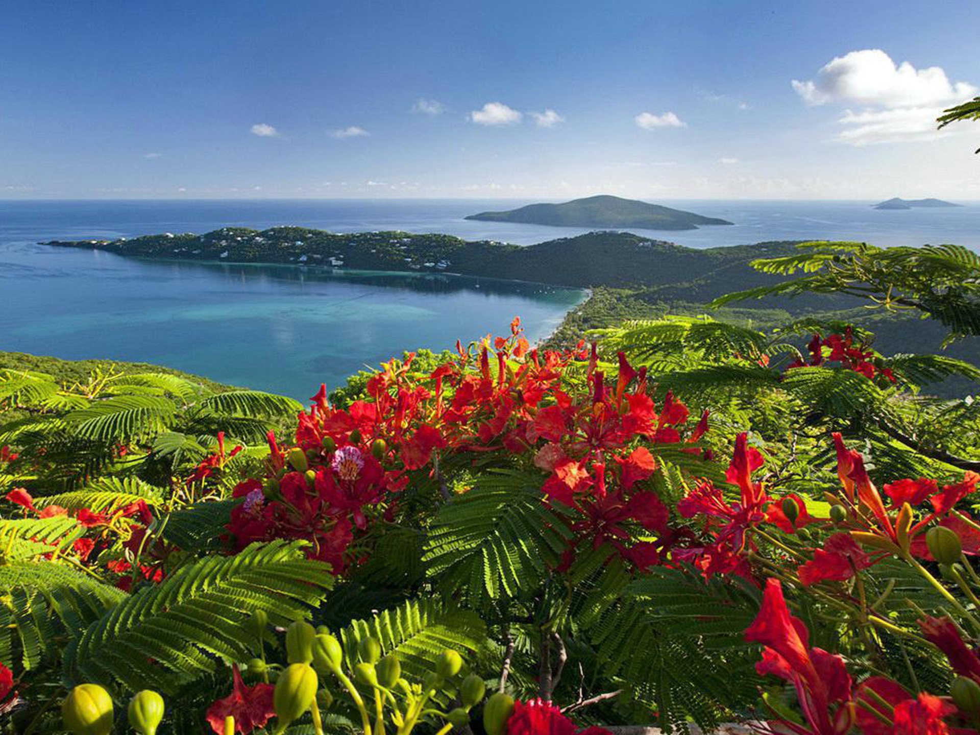 Caribbean Islands Beautiful View Exotic Holiday Wallpaper 1920x1440