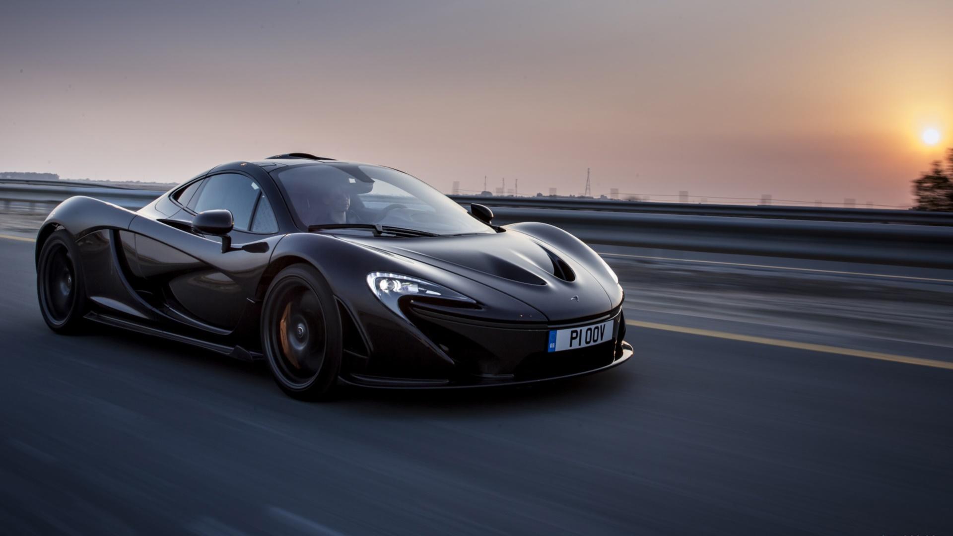 [43+] McLaren P1 Wallpaper Black on WallpaperSafari