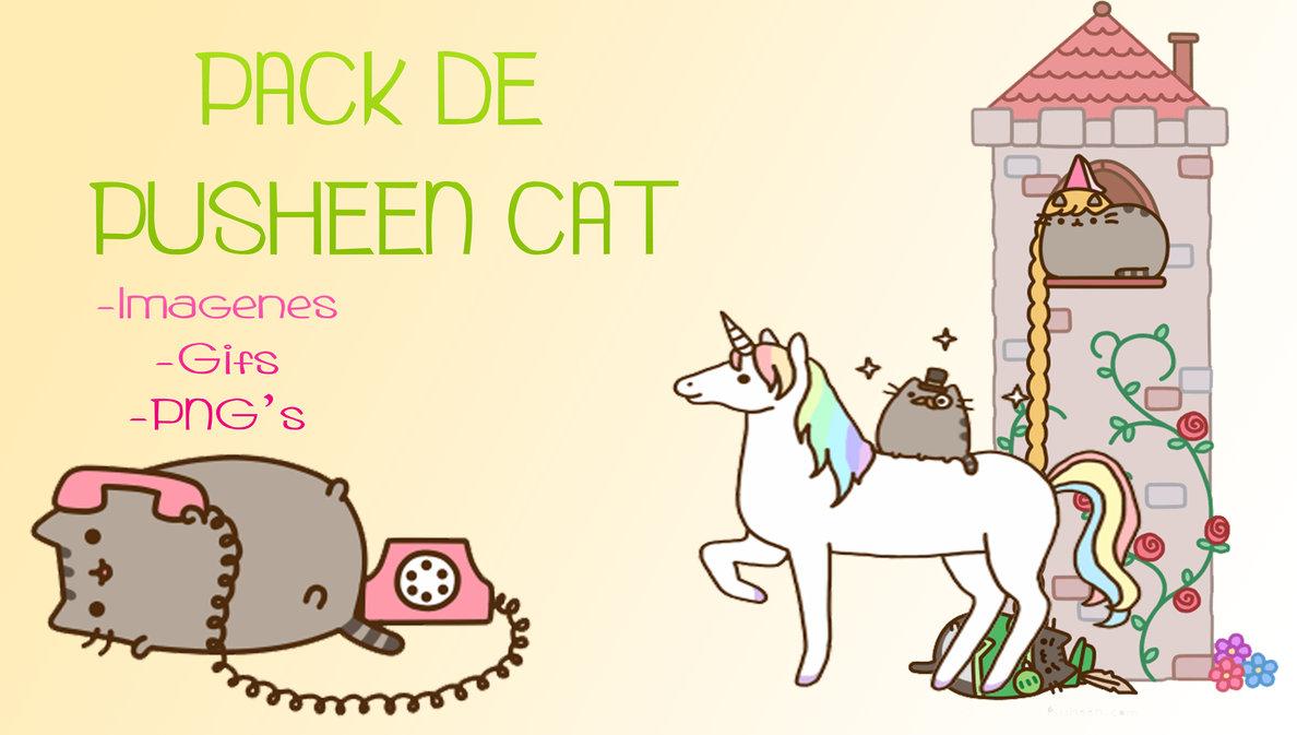 Pack de Pusheen Cat by Melyssa222 1188x673