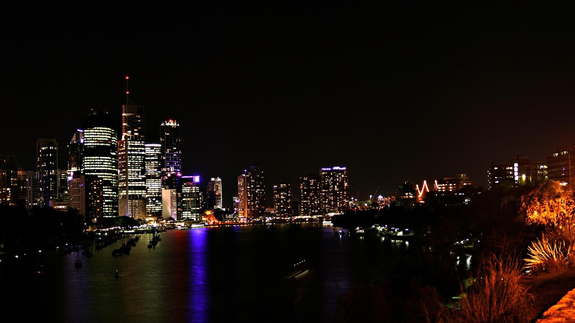 Christmas Lights Downtown Chicago
