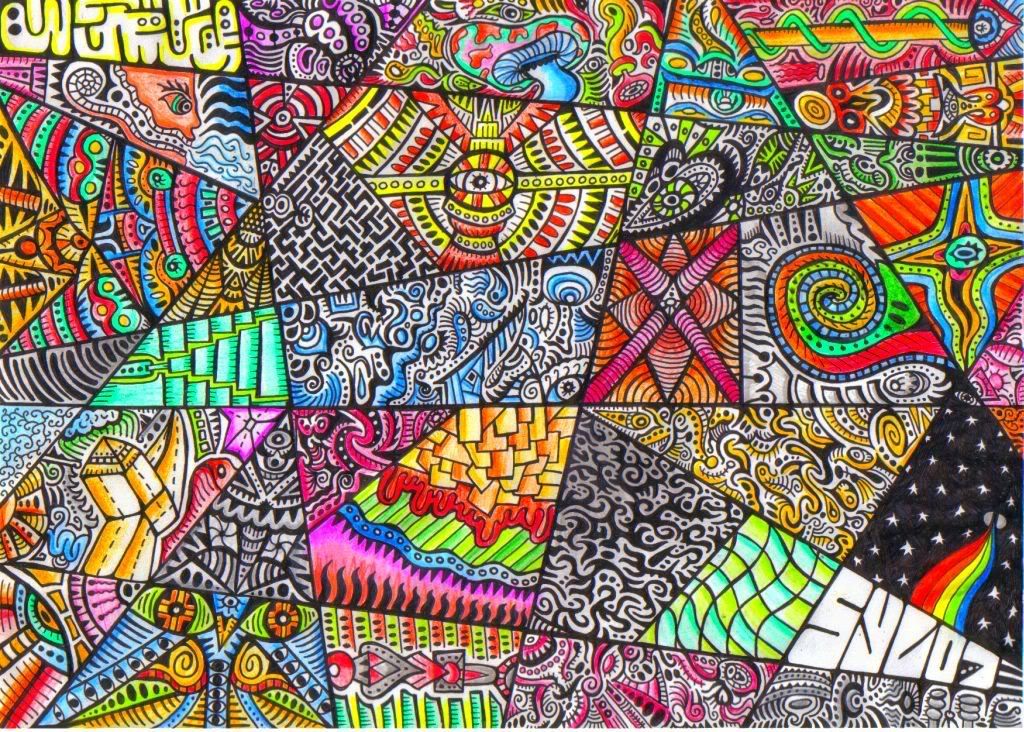 Trippy Twitter Backgrounds 1024x732