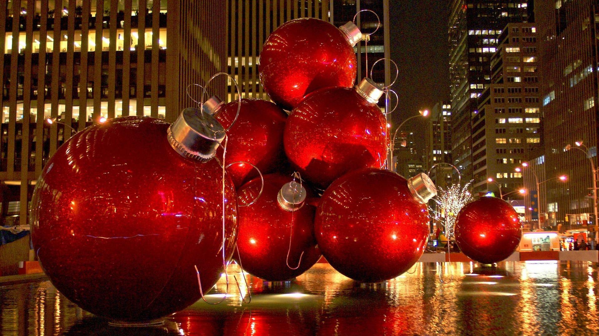 New York Christmas Wallpaper 1920x1080