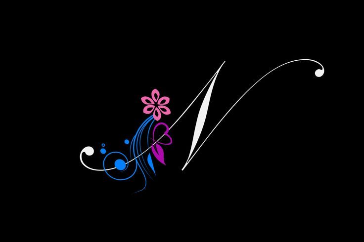 HD Wallpapers Very Attractive Letter N Background More 736x490