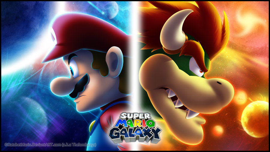 Super Mario Galaxy Wallpaper: Epic Mario Wallpaper