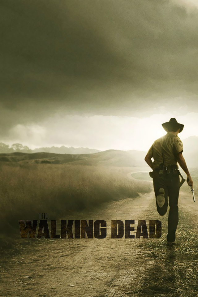 iphone 4 wallpaper the walking dead by iphonewallpapers d629owojpg 640x960