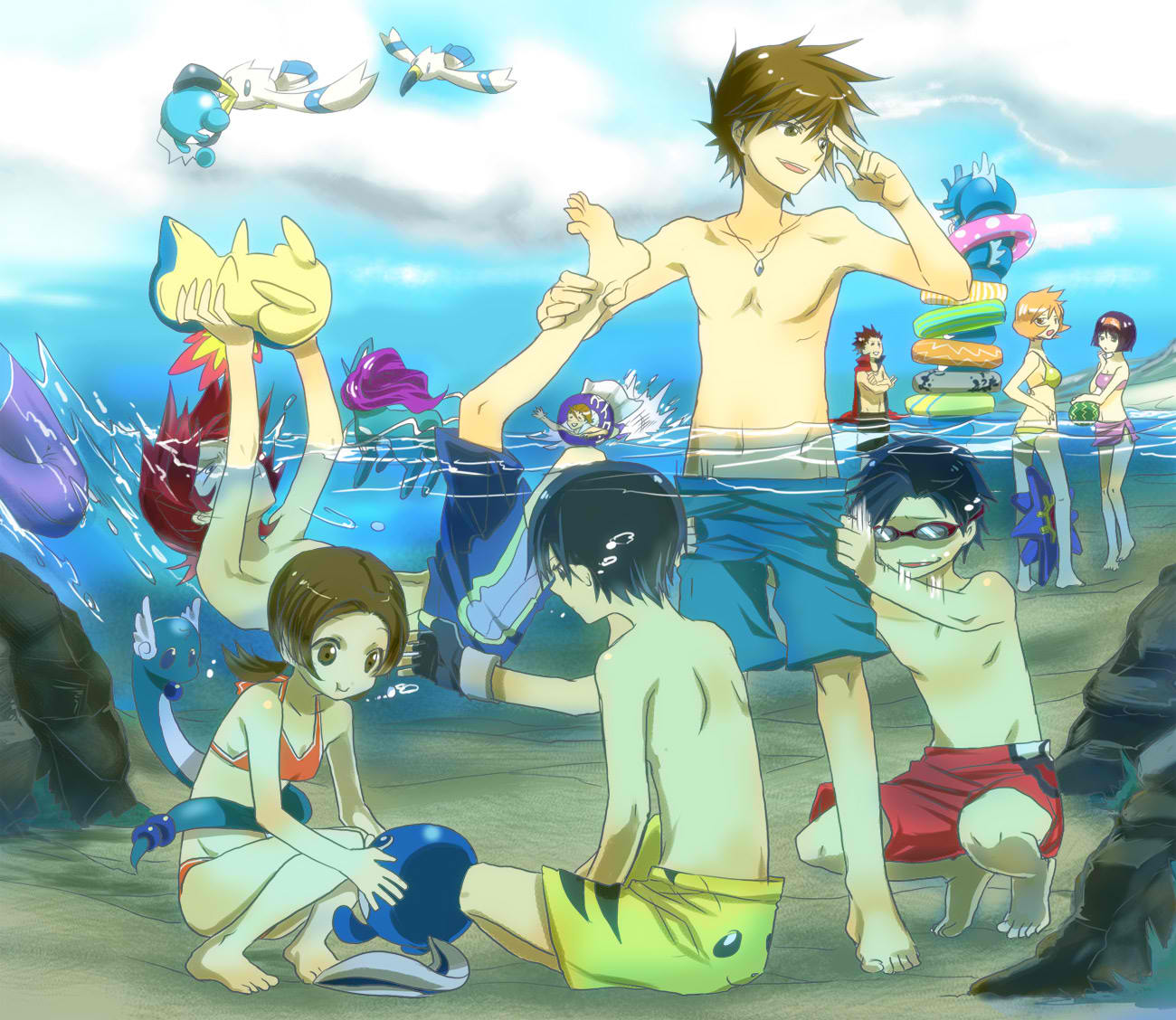 Free Download Download Water Pokemon Wallpaper 1300x1128 Wallpoper