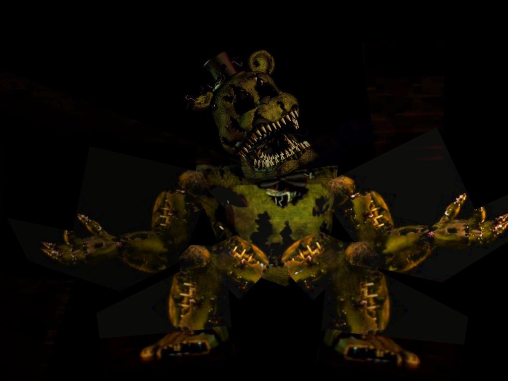 Nightmare Golden Freddy by DaleksonEarth 1024x768