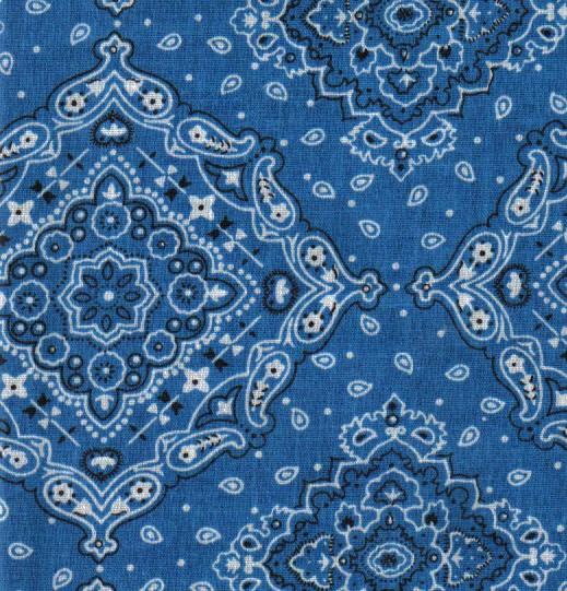 Blue Bandana Patterns Cute bandana pattern 519x541