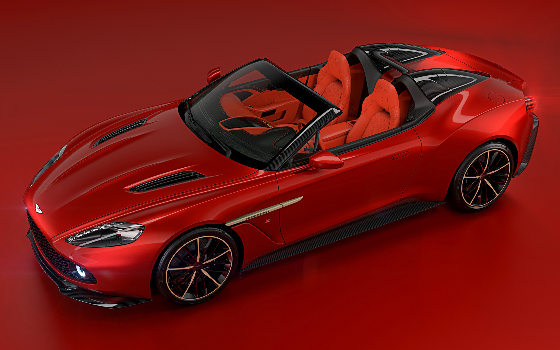 2018 Aston Martin Vanquish Zagato Speedster   Wallpapers and HD 1920x1200