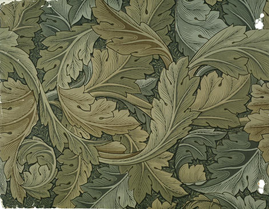 ludwig mies van der rohe William Morris wallpaper textiles 942x733