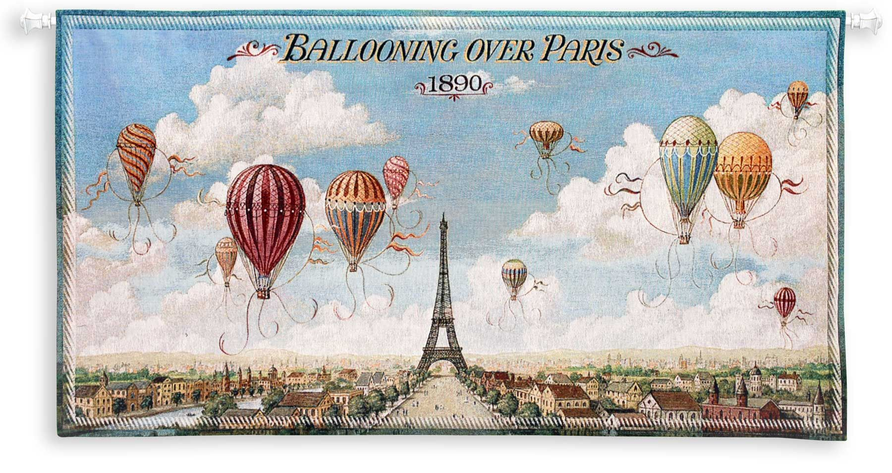 art wallpapers vintage art wallpaper ballooning over paris art print 1800x955