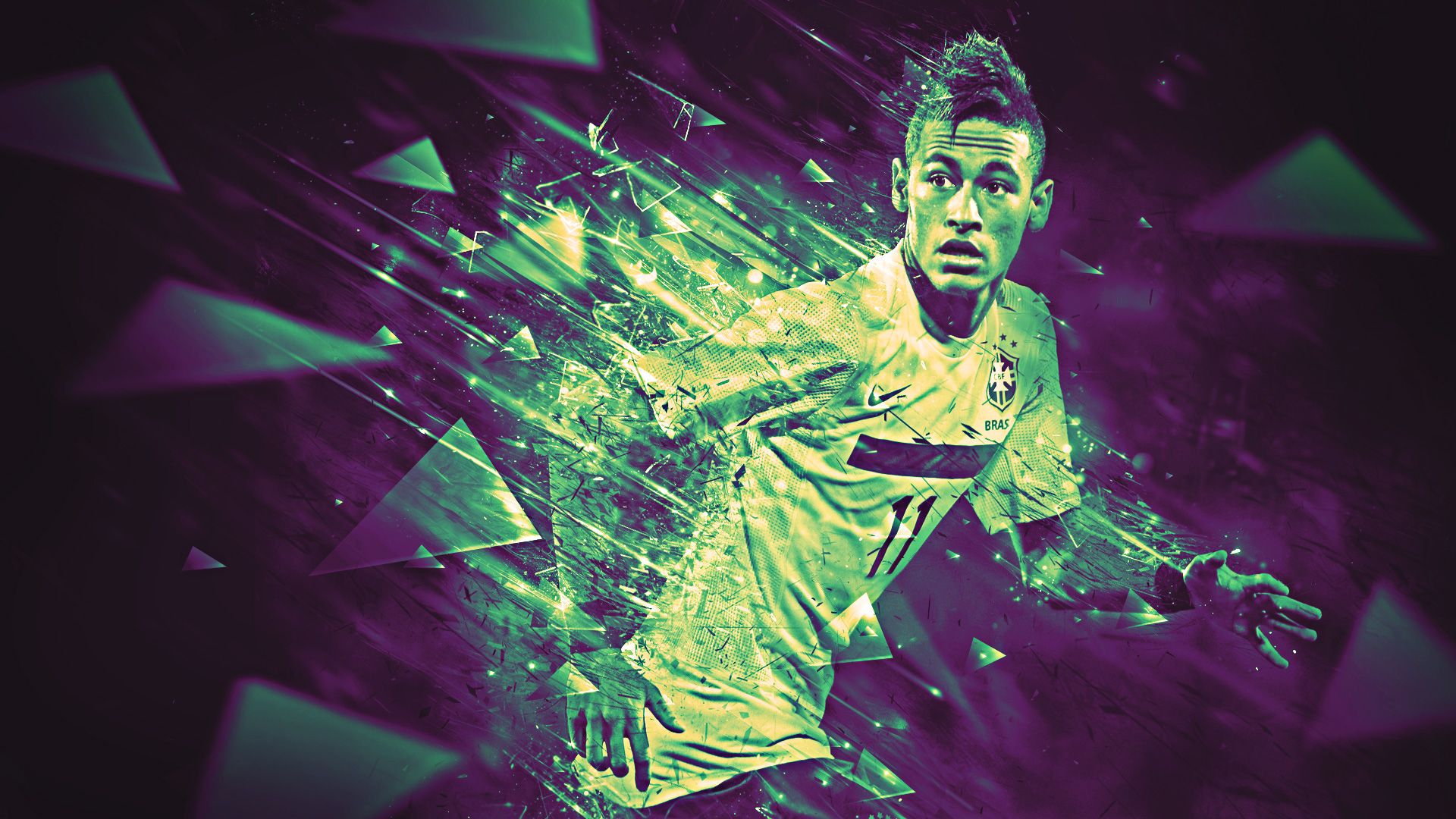Neymar wallpapers in 2016 Barcelona and Brazil 1920x1080