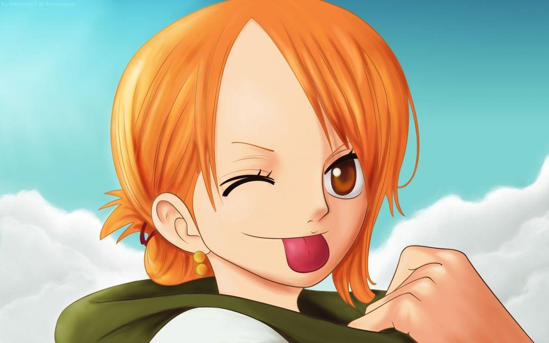 Happy one piece anime anime manga nami one piece wallpaper 1120x700