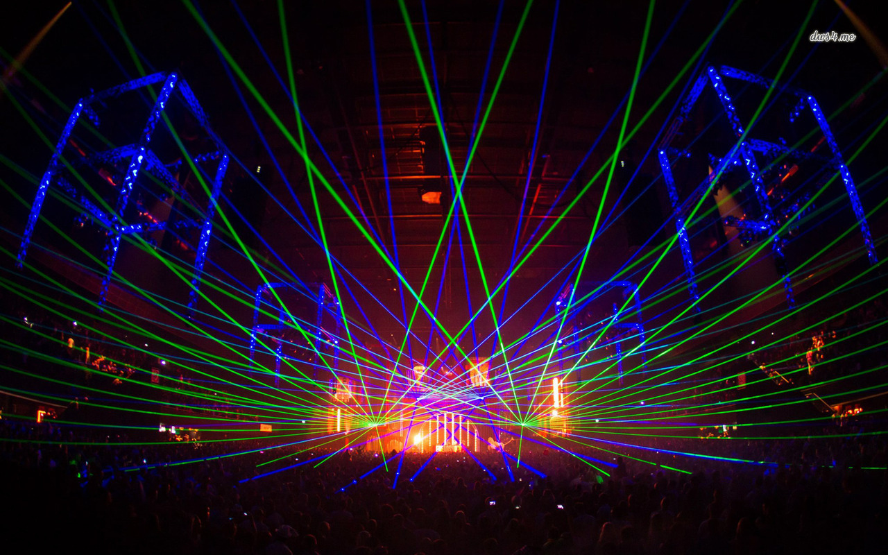 Laser show at a conCert wallpaper   Photography wallpapers   18389 1280x800