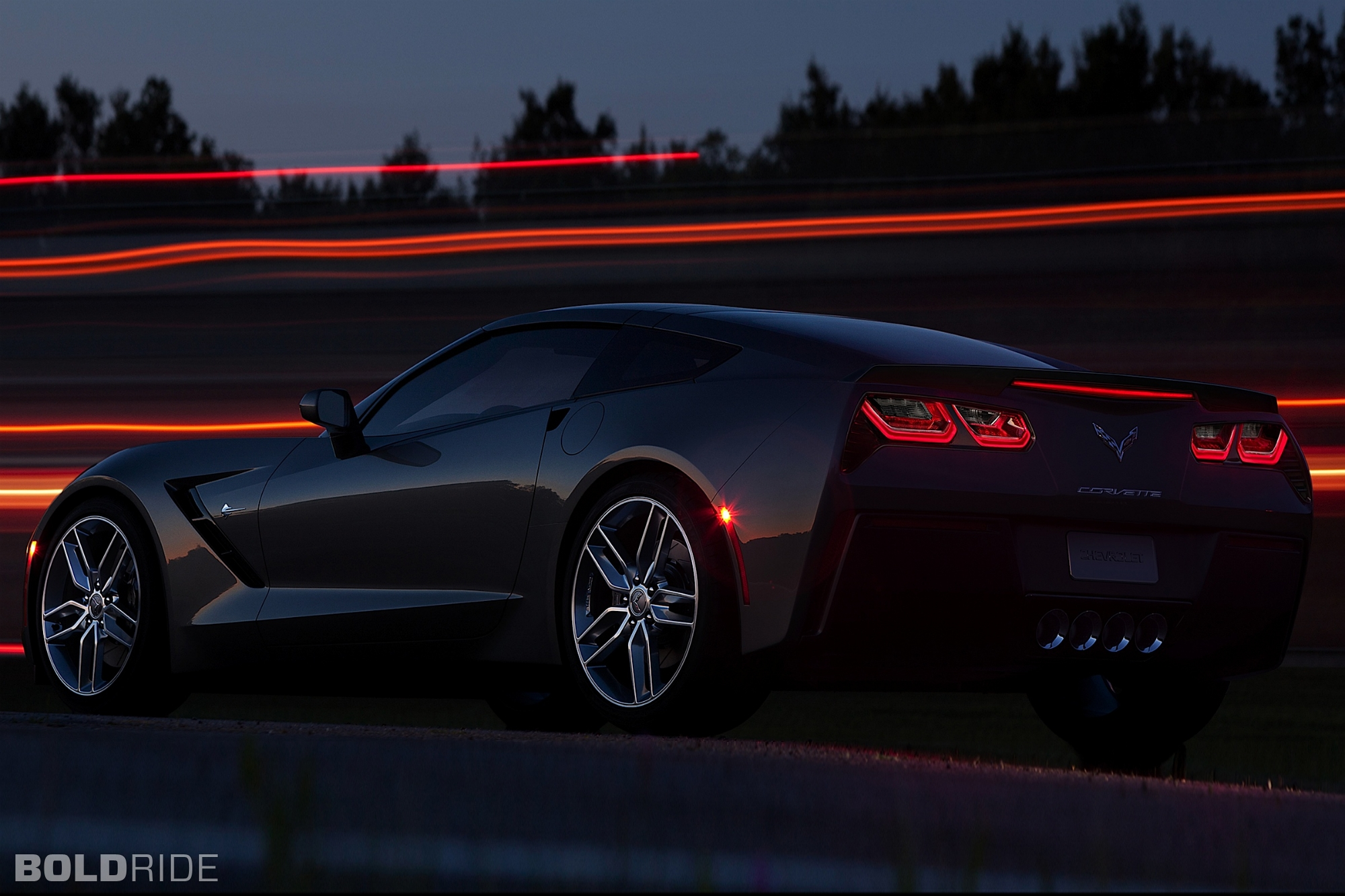 Corvette Stingray Wallpaper Car Wallpapers 2000x1333