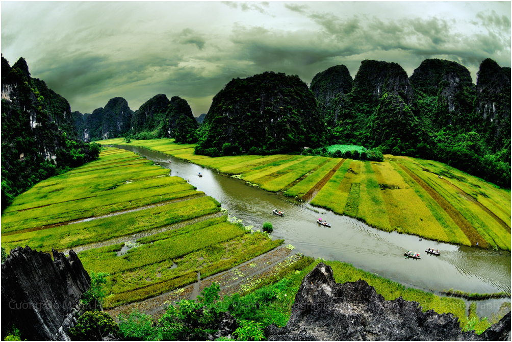 Vietnam beautiful scenery Most beautiful places in the world 1004x670