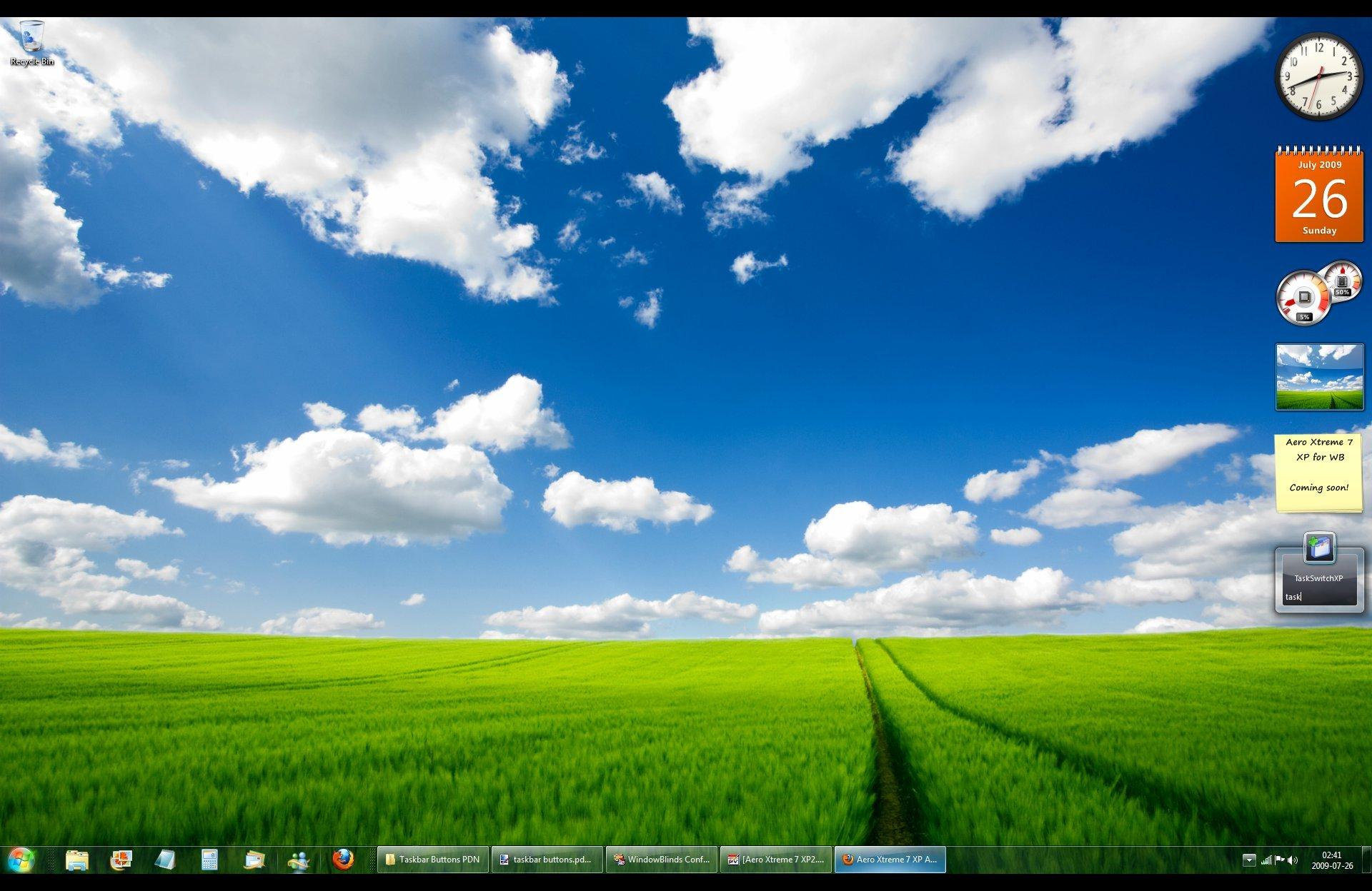 Windows XP Wallpaper Changer